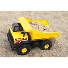 Tonka Classic Steel Mighty Dump Truck Construction Toy Tonka ...