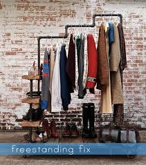 Clothing Store Display Ideas Industrial