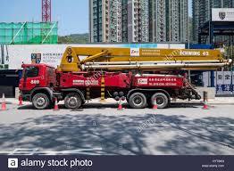 100 Concrete Pump Truck For Sale Stock Photos Stock Images Alamy