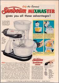 1950s Kitchen Appliances Ads