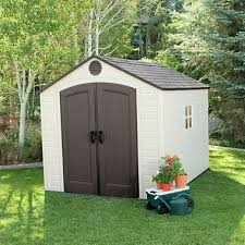 lifetime 8 x 10 outdoor storage shed sam s club