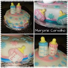 Marjs Melting Moments Baby Shower Cake Milk Bottles
