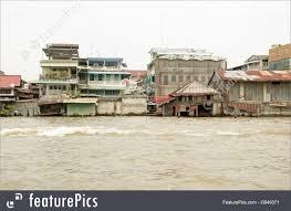 100 Homes In Bangkok Photo Of Ramshackle Boathouses