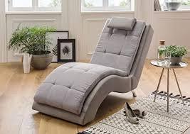 benformato liege relaxliege grau hellgrau stoff de