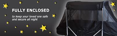 Nickel Bed Tent by The Safety Sleeper Safe U0026 Enclosed Bed System For Special Needs