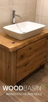 woodbasin waschbecken aus holz badezimmer unterschrank