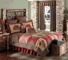Cabin Quilt Bedding Sets Log Cabin Bedding Quilts Cabin Patch