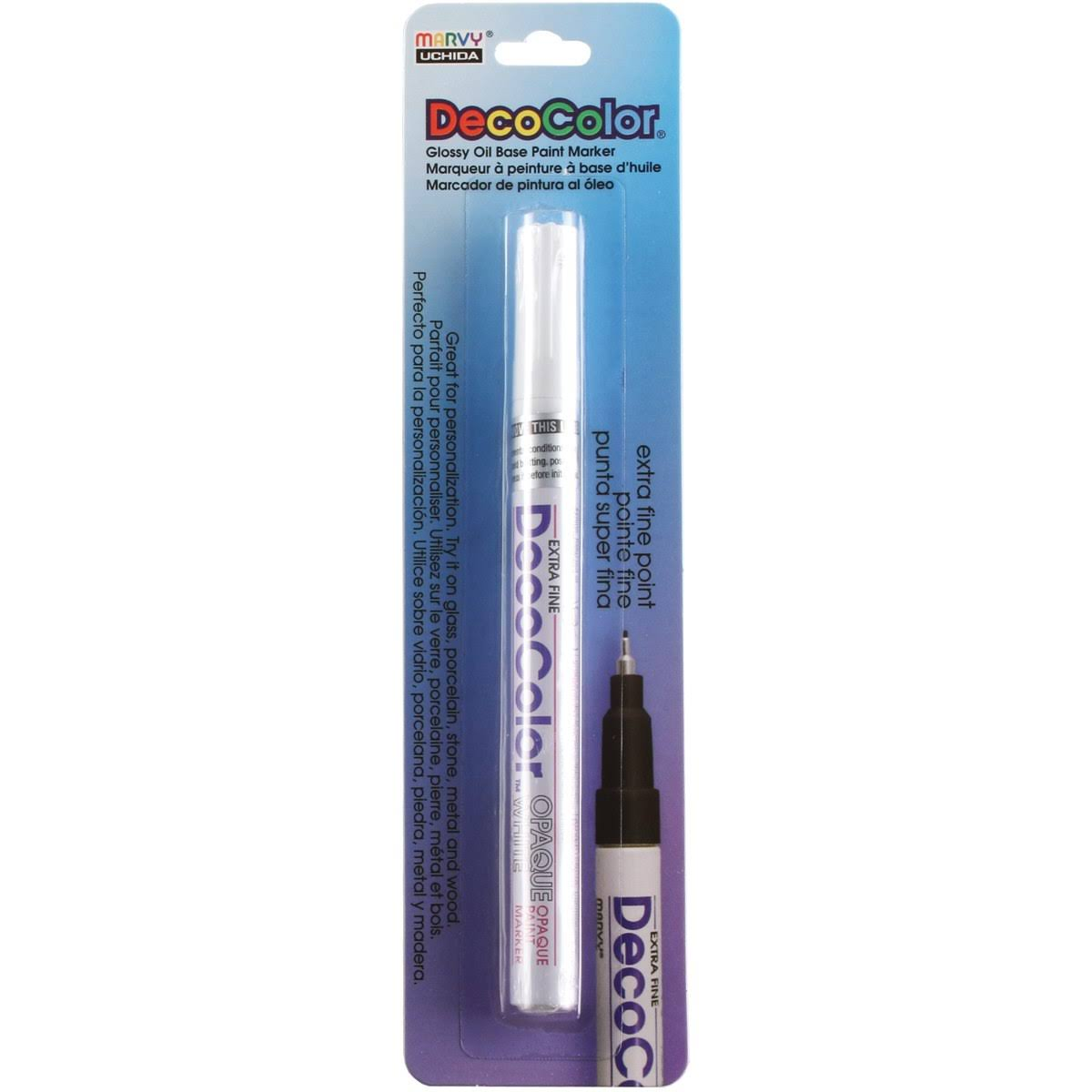 Uchida Deco Color Paint Marker - White