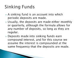 annuities and sinking funds ppt download