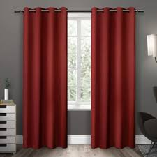 Bed Bath And Beyond Curtains Draperies by Buy Red Panels Curtains From Bed Bath U0026 Beyond