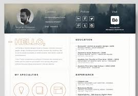 Best Free Resume Templates In Psd And Ai In 2017 Colorlib regarding