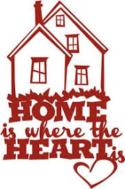 Home Is Where The Heart Clip Art