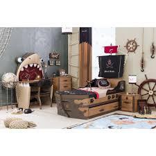 chambre enfant pirate chambre à coucher enfant black pirate complète par çilek achat