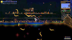 Pumpkin Moon Terraria by Tried The Old Pumpkin Moon Event With The New Magic Weapons Got