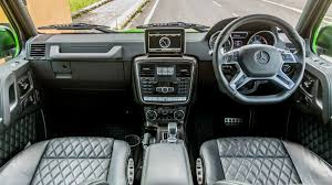 Mercedes Benz G Class Interior & Exterior Gallery