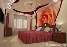das design der decke im schlafzimmer beendet 70 fotos