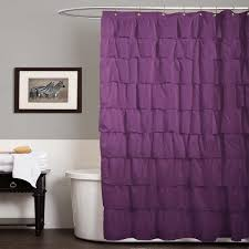 Purple Ruffle Curtain Panel by Purple Ruffle Curtain