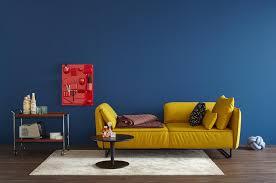 wandfarbe in blau bilder ideen