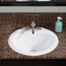Drop In Bathroom Sink With Granite Countertop by Drop In Sinks You U0027ll Love Wayfair