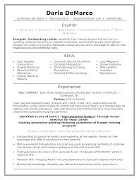 Resume Sample For Cashier In Fast Food Examples Of Resumes A Well