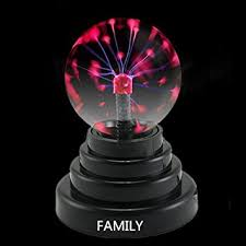 Electro Plasma Lava Lamp Amazon by Family Plasma Ball Usb Data Cable Or Battery Powered Amazon Co