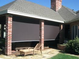 patio ideas patio shades and blinds outdoor bamboo patio shades