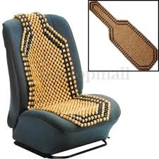 Summer Cool Wood Wooden Bead Seat Cover Massage Cushion Chair Cover Car  Auto Office Home 2 Colors