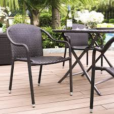 Threshold Patio Furniture Manufacturer by Amazon Com Crosley Furniture Palm Harbor Outdoor Wicker