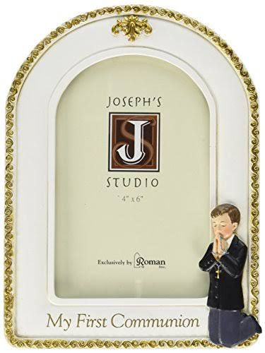 8 in. Joseph Studio Boy Communion Frame