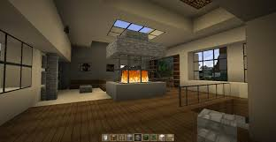 Minecraft Kitchen Ideas Ps4 by Fancy Design Minecraft Modern House Interior 26 Awesome Pictures