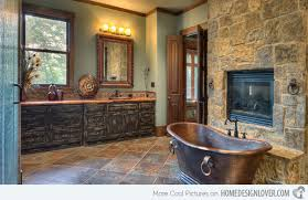 Small Rustic Bathroom Ideas by Best 25 Rustic Bathrooms Ideas On Pinterest Country Bathrooms