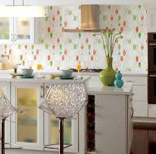 Kitsch Kitchen White With Minimal Bright Colored Accents