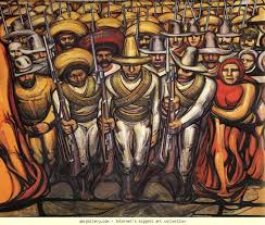 david alfaro siqueiros from the dictatorship of porfirio diaz to