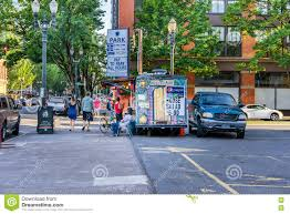 Mexican Food Truck Editorial Photography. Image Of Affordable - 81631782