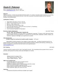 exles of resumes for flight attendants resume template exle