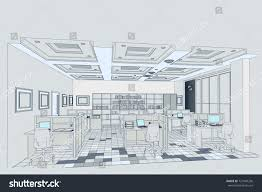 100 Architectural Design Office Interior Tablescomputers Jobs Stock