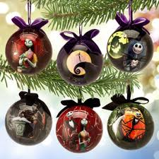 Nightmare Before Christmas Tree Toppers Bauble Set by Nightmare Before Christmas Ornament Set Chritsmas Decor