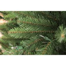 Fraser Fir Artificial Christmas Tree by Puleo International 7 5 Pre Lit Fraser Fir Artificial Christmas