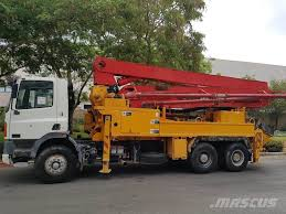 100 Concrete Pump Truck For Sale Used Putzmeister 33m Concrete Pump Trucks Year 2003 For Sale