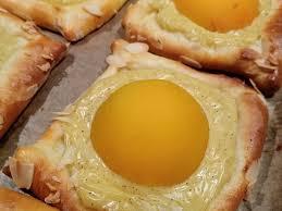 aprikosen pudding teilchen