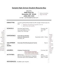 Resume For Teenager With No Work Experience Template High School Student Templates Teenage Examples Customer Ser