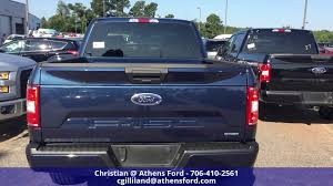 99 Blue Ford Trucks 2018 F150 Jean Color Exterior Walk Around YouTube