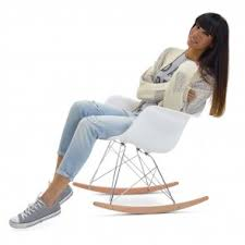 chaise a bascule eames plus chaises à bascule popfurniture fr