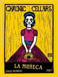 Sofa King Bueno 2015 Chronic Cellars by Tasting Notes Chronic Cellars La Muneca Paso Robles Usa