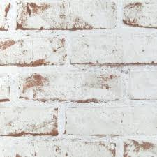 papier peint intisse chambre papier peint intissé décoré briques blanc