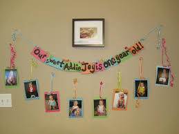 1 Year Old Baby Girl Birthday Theme Ideas Karmashares LLC