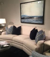Crypton Super Fabric Sofa by Lisa Mende Design Huntington House At High Point Market