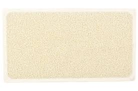 Bathtub Mat Without Suction Cups by Amazon Com Loofah Shower Mat With Eight Suction Cups Non Slip