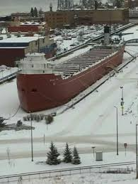 Edmund Fitzgerald Sinking Theories by Edmund Fitzgerald Loading Ships Wrecked And Lost Pinterest