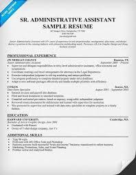 Resume For Administrative Assistant Unique 10 Best